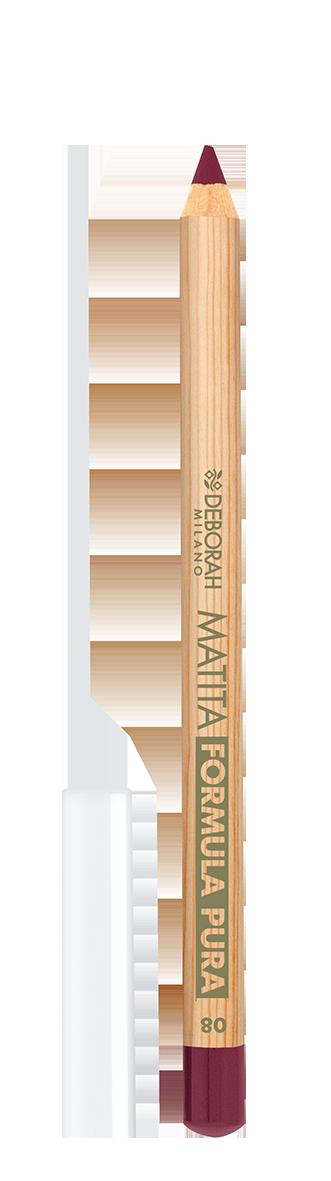 Lūpų pieštukas DEBORAH FORMULA PURA 08 ROSEWOOD, 1 vnt.
