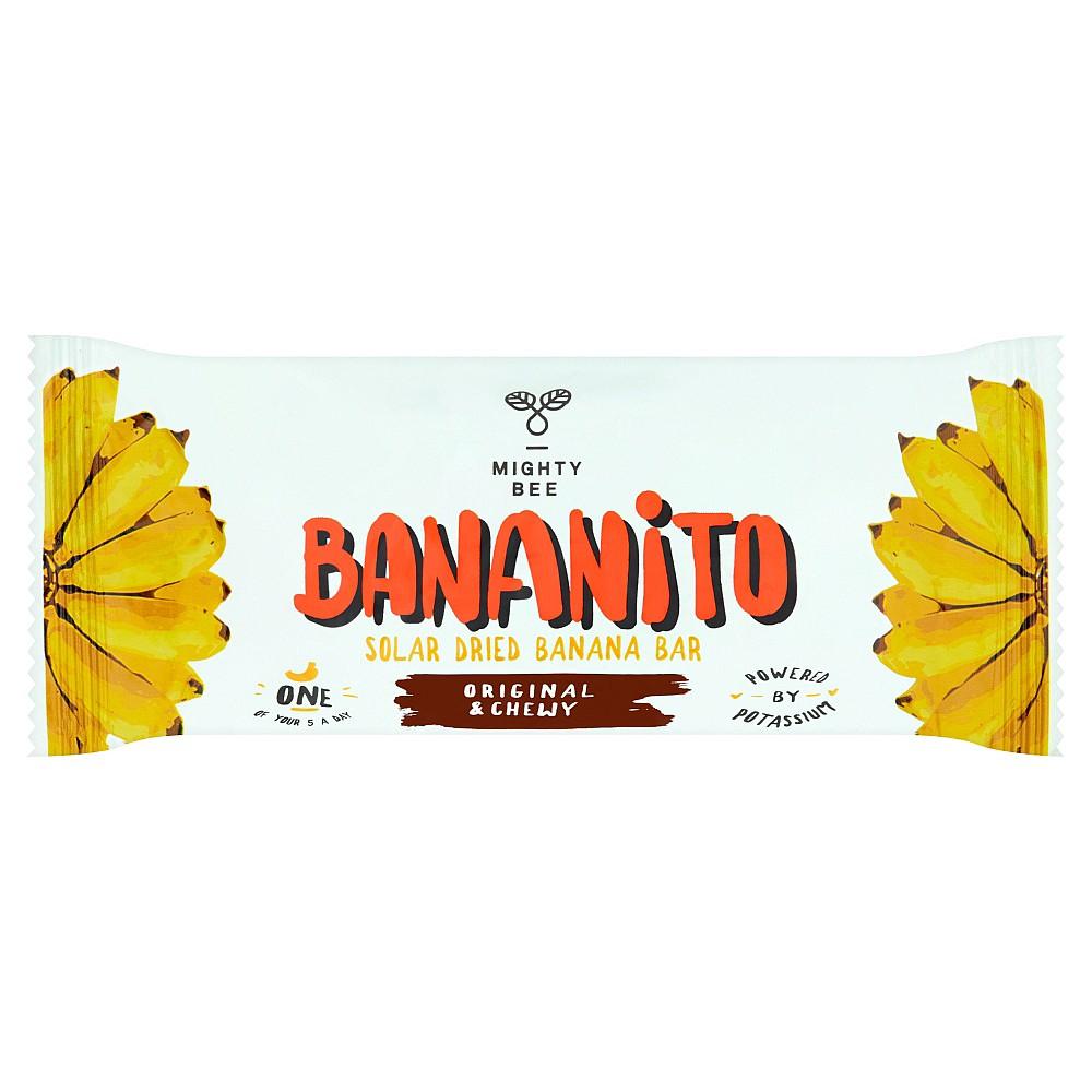 Saulėje džiovinti bananai, BANANITO, 40 g