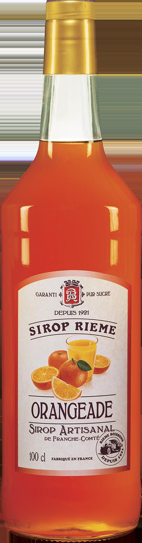Oranžado skonio sirupas SIROP RIEME 1L