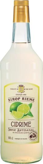Laimų skonio sirupas SIROP RIEME 1L