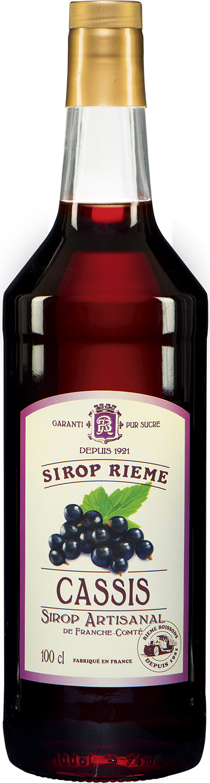 Juodųjų serbentų skonio sirupas SIROP RIEME 1L