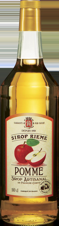 Obuolių skonio sirupas SIROP RIEME 1L