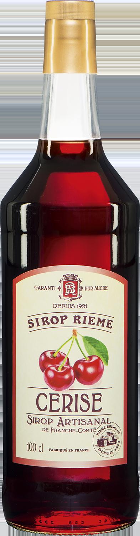 Vyšnių skonio sirupas SIROP RIEME 1L