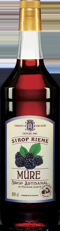 Gervuogių skonio sirupas SIROP RIEME 1L