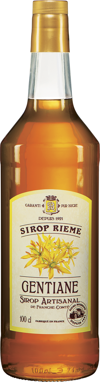 Gencijono skonio sirupas SIROP RIEME 1L