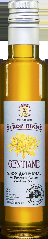 Gencijono skonio sirupas SIROP RIEME 0,25L