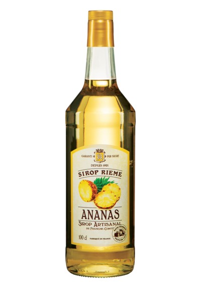 Ananasų skonio sirupas SIROP RIEME 1L