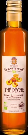 Ekologiškas persikų arbatos skonio sirupas SIROP RIEME 0,50L