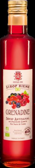 Ekologiškas grenadino sirupas SIROP RIEME 0,50L