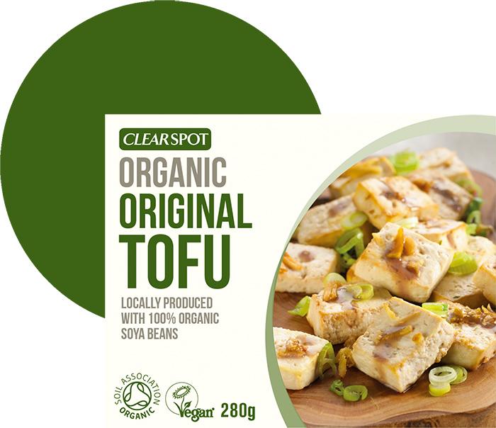 Sojų pupelių sūris CLEARSPOT TOFU, ekologiškas, 280g