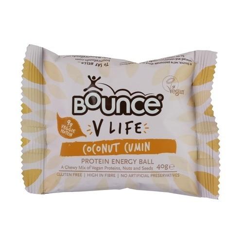 "Energinis batonėlis BOUNCE ""coconut cumin"", 40 g"