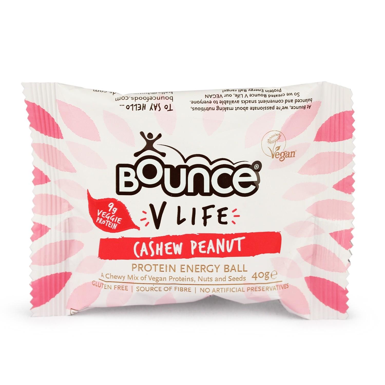 "Energinis batonėlis BOUNCE ""cashew peanut"", 40 g"