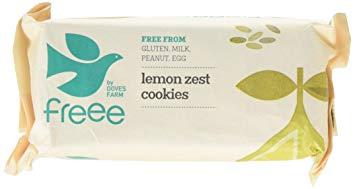 Ekologiški citrininiai sausainiai DOVES FARM, 150 g