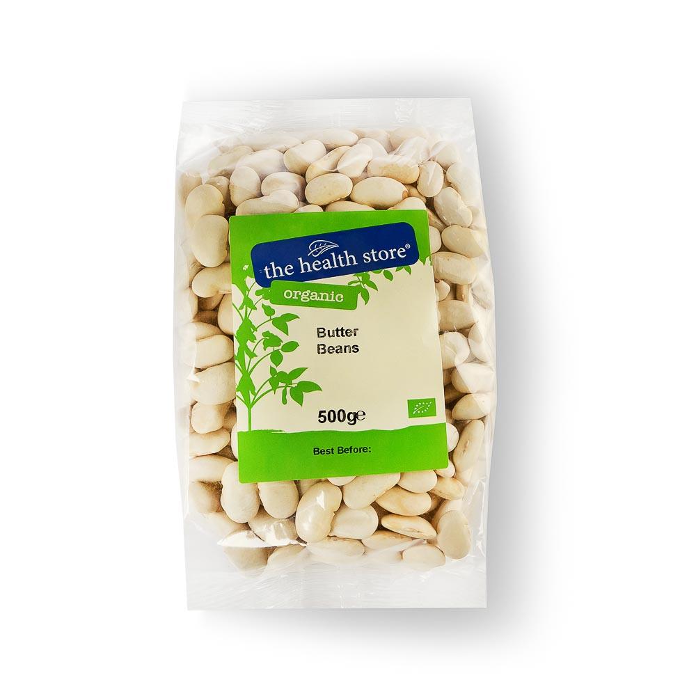 Ekologiškos sviestinės pupelės THS ORGANIC, 500 g