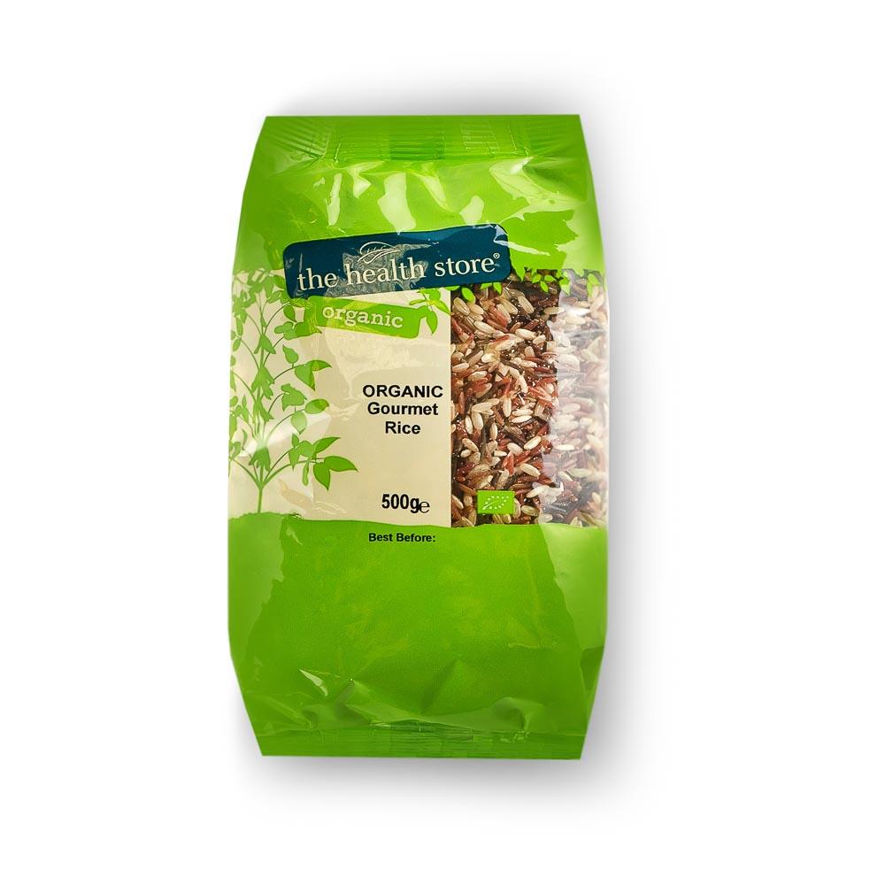 Ekologiškas ryžių mišinys THS ORGANIC, 500 g