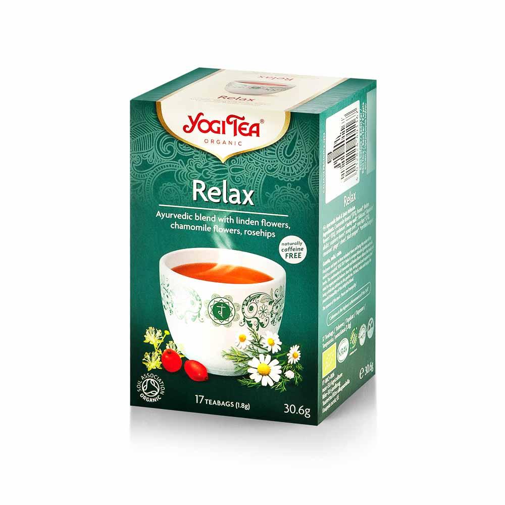 Atpalaiduojanti arbata, Yogi Tea,30,6g