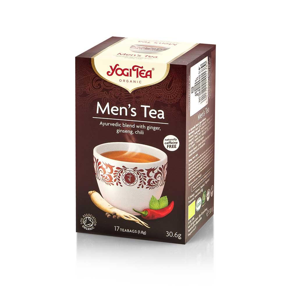 YOGI TEA  ekologiška ajurvedinė arbata vyrams, 30g