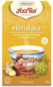 Ekologiška ajurvedinė Himalajų arbata,Yogi Tea, 34g