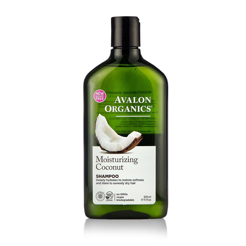 Drėkinamasis šampūnas AVALON ORGANICS su kokosais, 325 ml