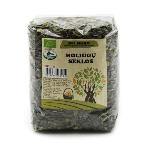 Ekologiškos moliūgų sėklos DU MEDU, 1 Kg
