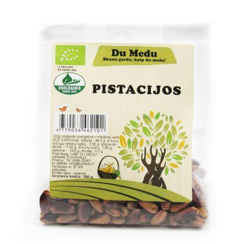 Ekologiškos pistacijos DU MEDU, 100g