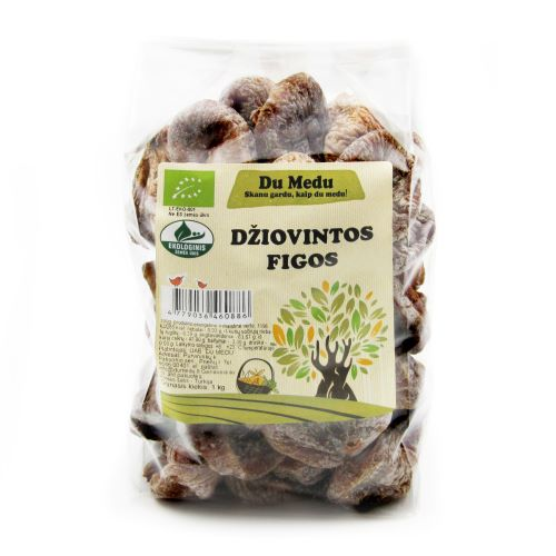 Ekologiškos džiovintos figos DU MEDU, 1kg