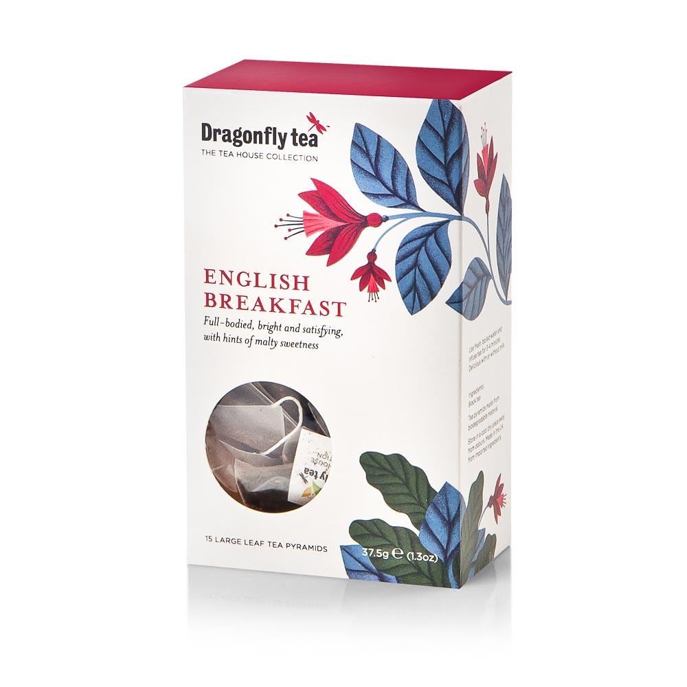 Arbata DRAGONFLY TEAS ENGLISH BREAKFAST  37,5g