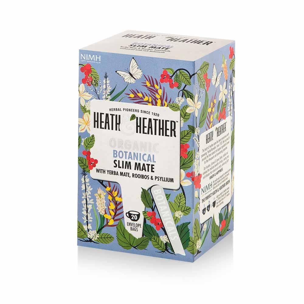 Ekologiška arbata HEATH & HEATHER SLIM MATE  40g