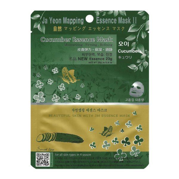 Veido kaukė JA YEON MAPPING su agurkų ekstraktu, 24g
