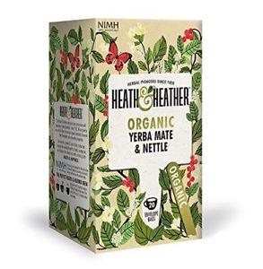 Ekologiška arbata HEATH &HEATHER YERBA MATE & NETTLE 20g