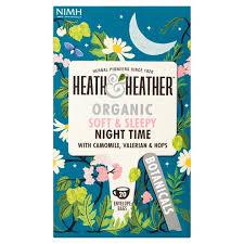 Ekologiška arbata HEATH & HEATHER NIGHT TIME  20g