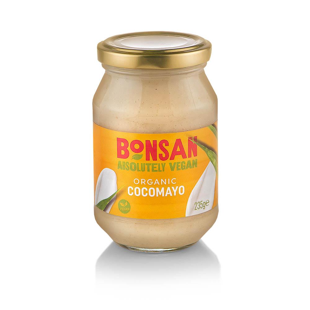 Ekologiškas majonezas su kokosais BONSAN 235g