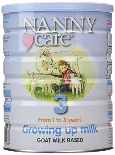 Tolesnio maitinimo ožkos pieno mišinys NANNY vaikams nuo 12 mėn iki 36 mėn., 900 g