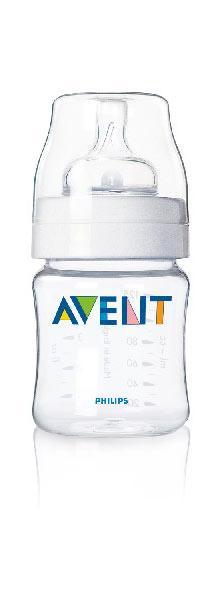 AVENT  Buteliukas 125 ml PP .Su lėtos tėkmės naujagimio žinduku. Idealiai tinka maitinti papildomai, sultims ar vandeniui. (1/181)