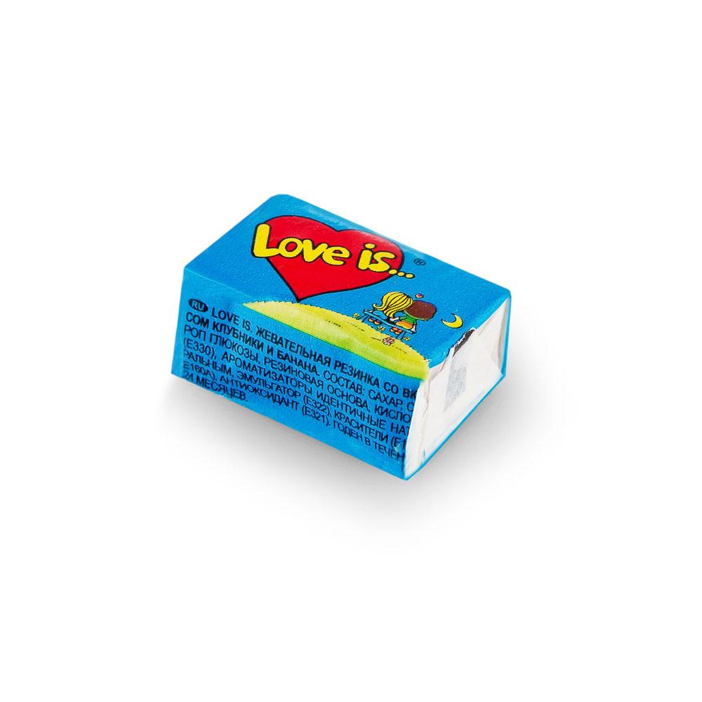 Kramtoma guma, Love Is, 4,5g (mėlyna)