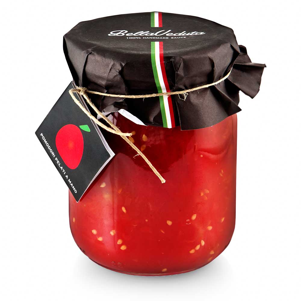 Rankomis lupti pomidorai savo sultyse BELLAVEDUTA, 550g