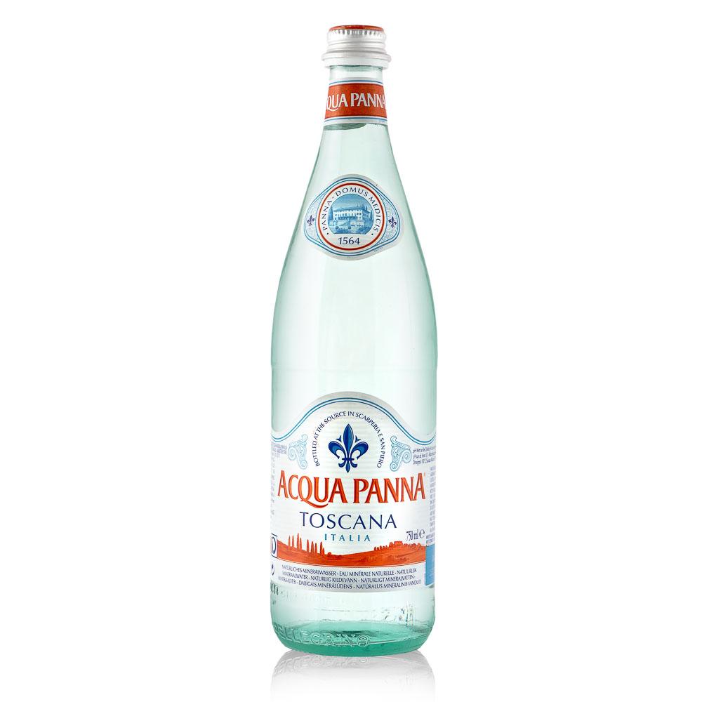 ACQUA PANNA natūralus mineralinis vanduo 0,75l