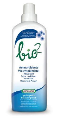 Almacabio Bio2 hipoalerginis audinių minkštiklis, 1 l