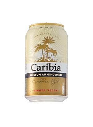 ALUS, CARIBIA GINGER BEER 0.0% 0.33L SK