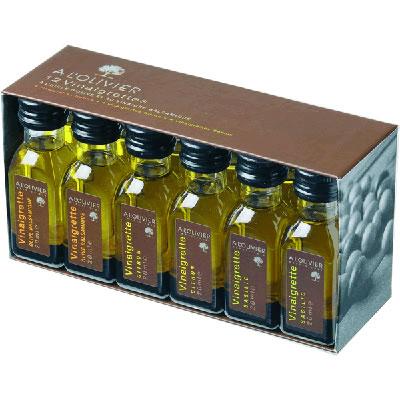 Alyvuogių aliejų padažų rinkinys A L'OLIVIER, 12*20ml