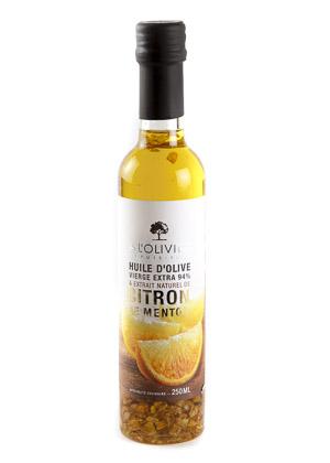 Alyvuogių aliejus su citrinomis A L'OLIVIER, 250ml