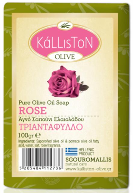 ALYVUOGIŲ muilas Kalliston Rose, 100 g