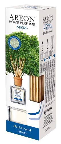 Areon kvapnios buitinės lazdelės 150ml (BLACK CRYSTAL) aromato