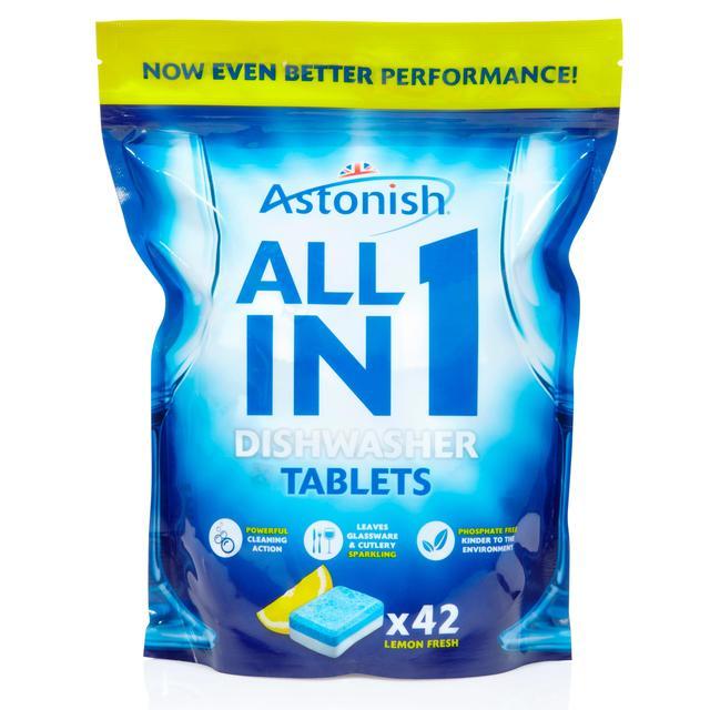 Indaplovių tabletės ASTONISH, 42x20g