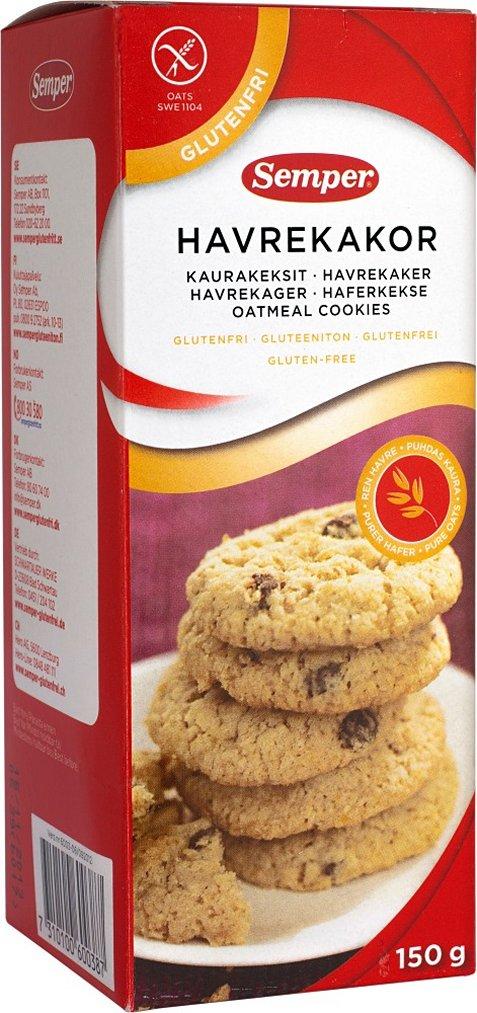 Avižiniai sausainiai Semper, 150 g