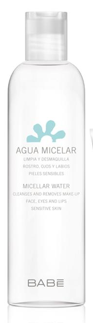 Akių ir veido makiažo valomasis BABE FACIAL micelinis vanduo, 250 ml