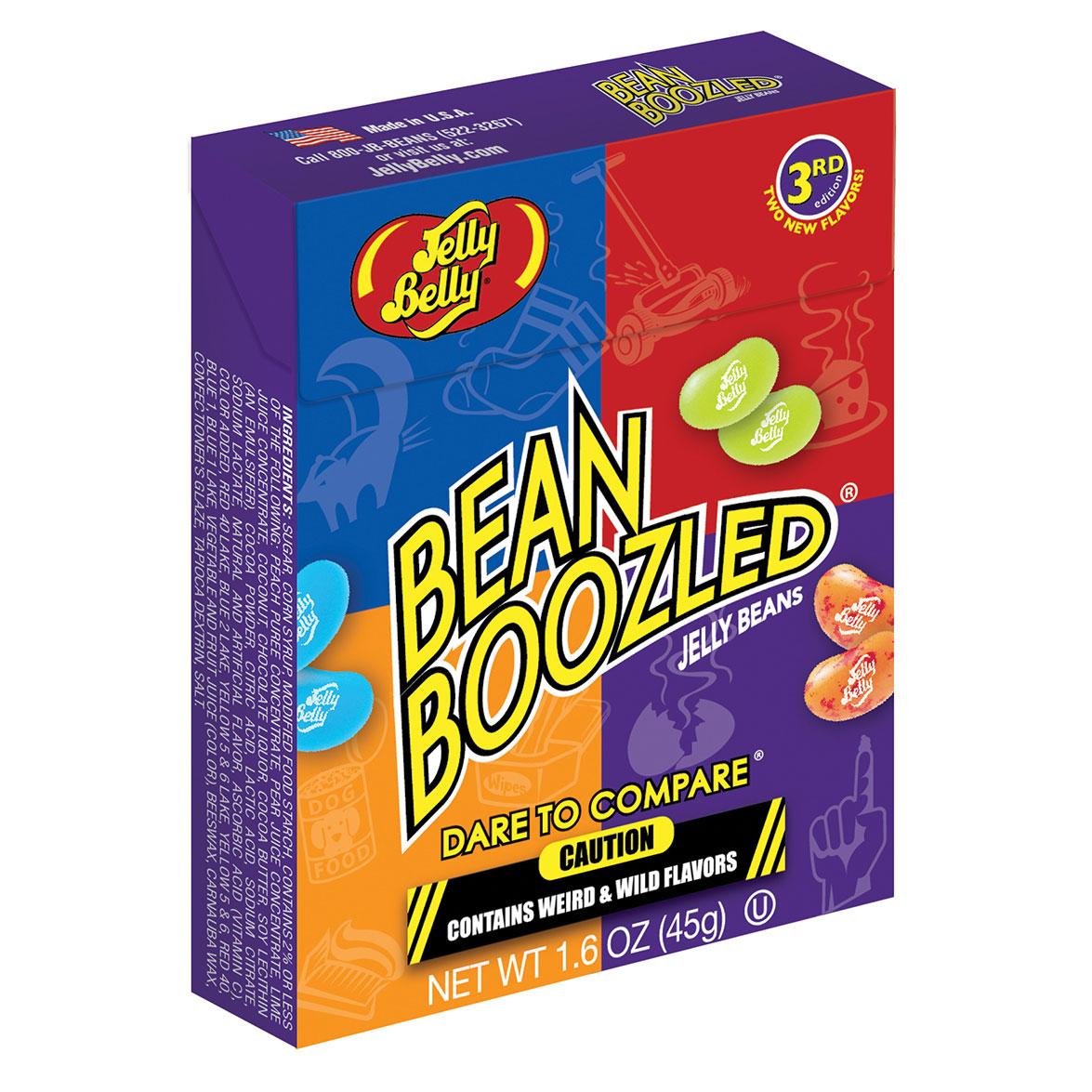 BEAN BOOZLED GUMINUKAI Jelly Belly dėž, 45g