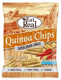 Bolivinės balandos (Quinoa) aštrūs traškučiai EAT REAL, 30g