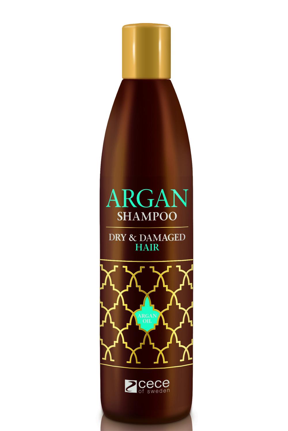 Šampūnas SU ARGANO ALIEJUMI, Cece Argan, 300 ml