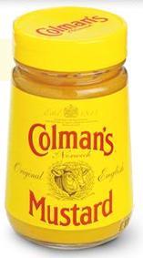 Originalios ANGLIŠKOS GARSTYČIOS COLMAN'S Original English Mustard, 100g